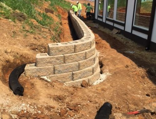 Chattanooga Golf and Country Club Retaining Wall